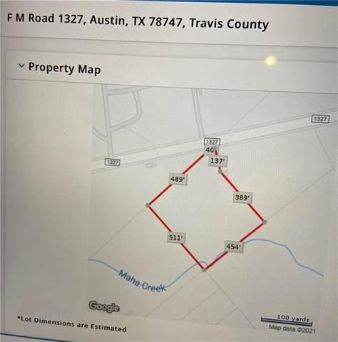 000 F M Road 1327, Austin, TX 78747 (#5966359) :: Watters International