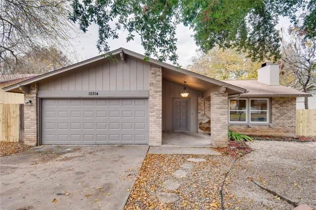 10314 Timbercrest Ln, Austin, TX 78750 (#5978755) :: 12 Points Group