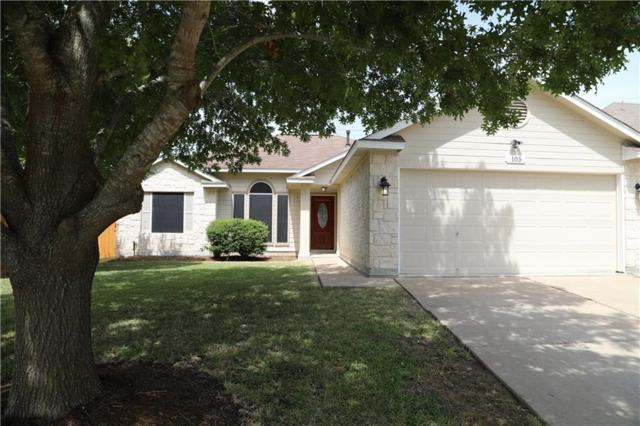 105 Willowbrook Dr, Hutto, TX 78634 (#5986342) :: The Heyl Group at Keller Williams