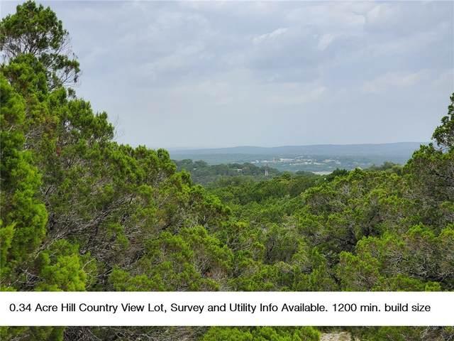 6612 Panorama Rdg, Lago Vista, TX 78645 (#6021893) :: Ben Kinney Real Estate Team