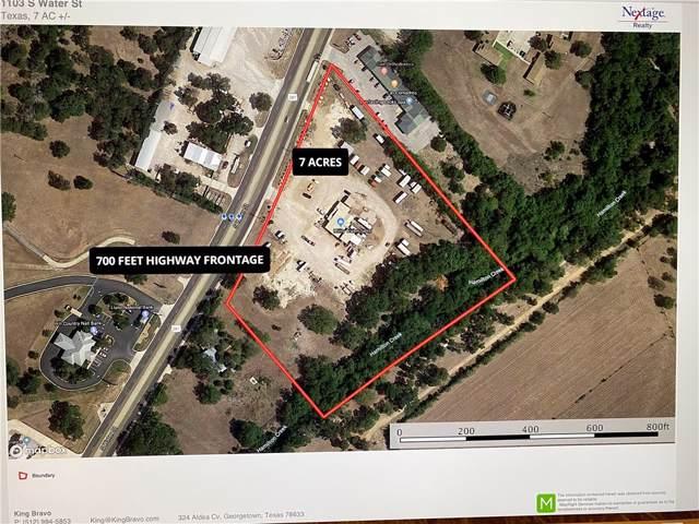 1103 S Water St, Burnet, TX 78611 (MLS #6072007) :: Vista Real Estate