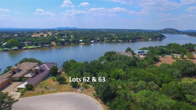 Lots 62 & 63 Rock N Robyn Trl, Horseshoe Bay, TX 78657 (#6088665) :: The Perry Henderson Group at Berkshire Hathaway Texas Realty
