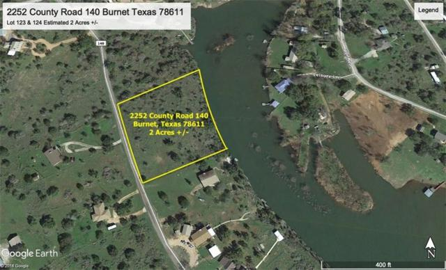 2252 County Rd 140, Burnet, TX 78611 (#6147329) :: 12 Points Group