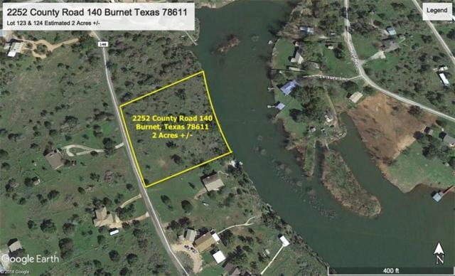2252 County Rd 140, Burnet, TX 78611 (#6147329) :: Watters International