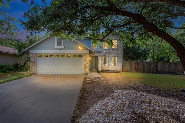 1631 Cattle Trl, Austin, TX 78748 (#6151910) :: RE/MAX Capital City