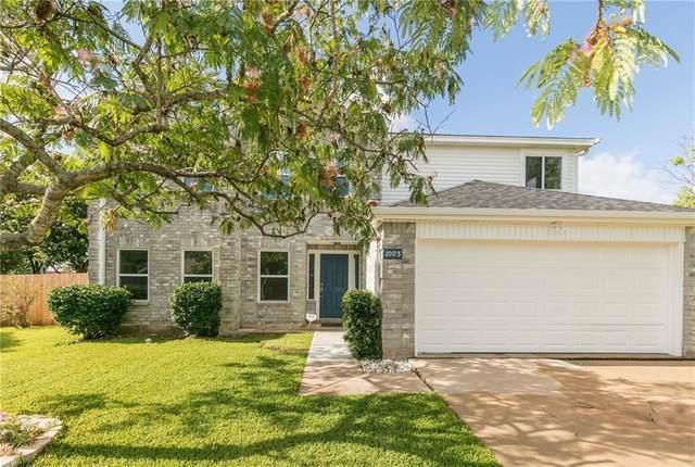 1003 Hayden Way, Round Rock, TX 78664 (#6192981) :: Papasan Real Estate Team @ Keller Williams Realty