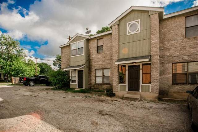 1221 W Hopkins St #11, San Marcos, TX 78666 (#6256335) :: Watters International
