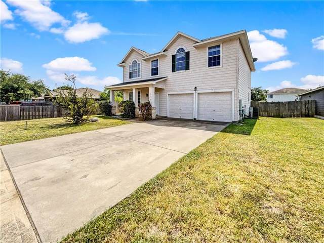 119 Hyltin St, Hutto, TX 78634 (#6337064) :: Front Real Estate Co.