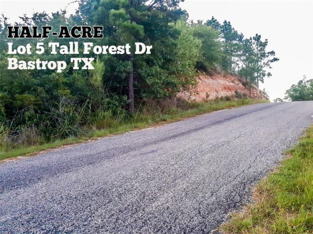 Lot 5 Tall Forest Dr, Bastrop, TX 78602 (#6397772) :: Realty Executives - Town & Country