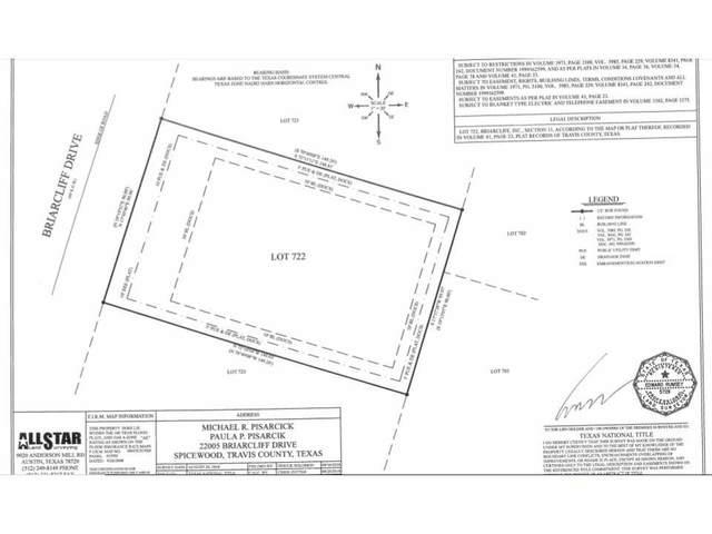 22005 Briarcliff Dr, Spicewood, TX 78669 (#6432526) :: Lauren McCoy with David Brodsky Properties