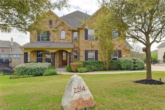 2214 Buffalo Gap, Leander, TX 78641 (#6457151) :: Ben Kinney Real Estate Team