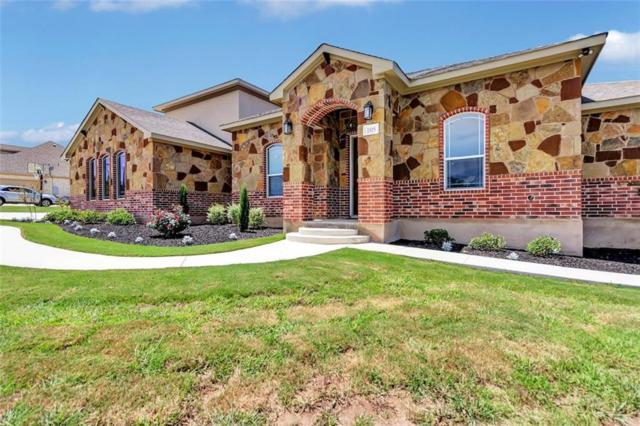105 Stone Water Ln, Jarrell, TX 76537 (#6467339) :: The Perry Henderson Group at Berkshire Hathaway Texas Realty