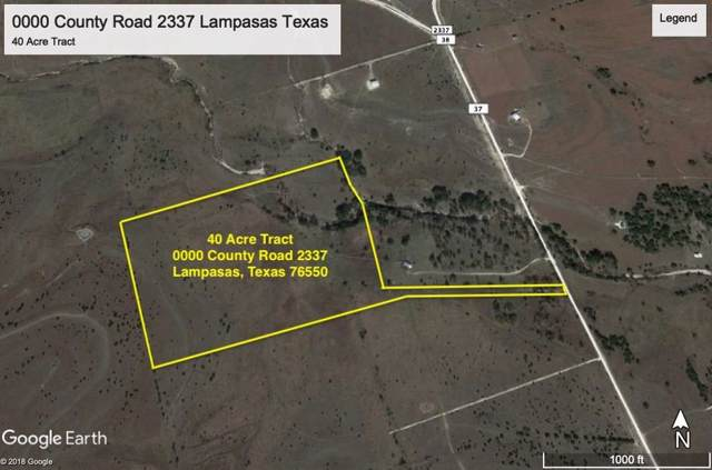 0000 County Road 2337, Lampasas, TX 76550 (#6507436) :: The Perry Henderson Group at Berkshire Hathaway Texas Realty