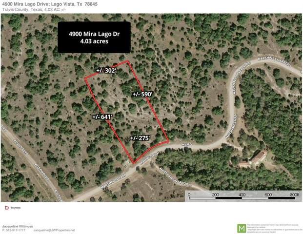 4900 Mira Lago Dr, Lago Vista, TX 78645 (#6523406) :: Papasan Real Estate Team @ Keller Williams Realty
