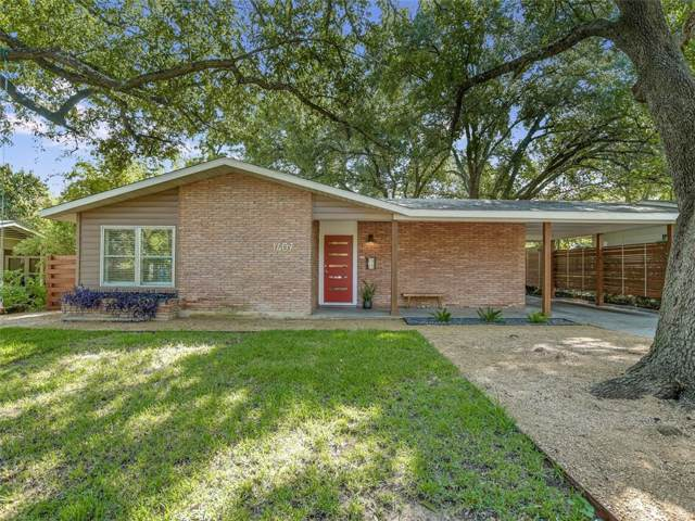 1407 Yorkshire Dr, Austin, TX 78723 (#6660313) :: The Perry Henderson Group at Berkshire Hathaway Texas Realty