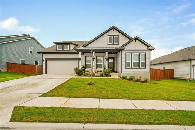 305 Wagon Spoke Way, Liberty Hill, TX 78642 (#6701776) :: Papasan Real Estate Team @ Keller Williams Realty
