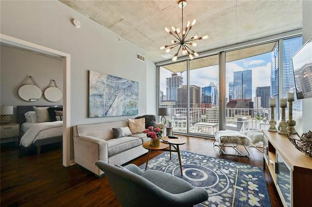 360 Nueces St #1305, Austin, TX 78701 (#6726693) :: The Perry Henderson Group at Berkshire Hathaway Texas Realty