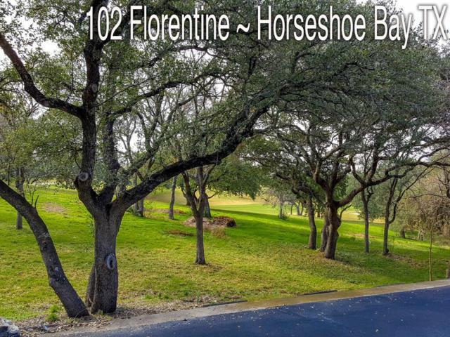 102 Florentine, Horseshoe Bay, TX 78657 (#6813605) :: Watters International