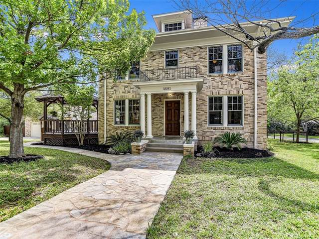 3501 Woodrow St, Austin, TX 78705 (#6845922) :: The Summers Group