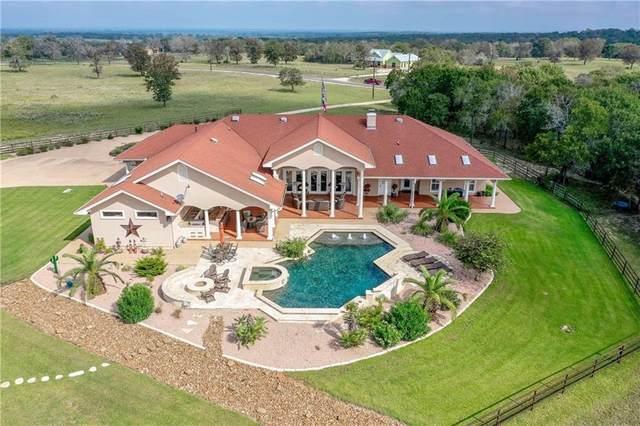 547 Powder Rdg, Luling, TX 78648 (#6881334) :: Papasan Real Estate Team @ Keller Williams Realty