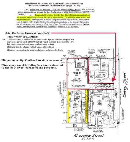 1808 Riverview St B, Austin, TX 78702 (MLS #6926291) :: Vista Real Estate
