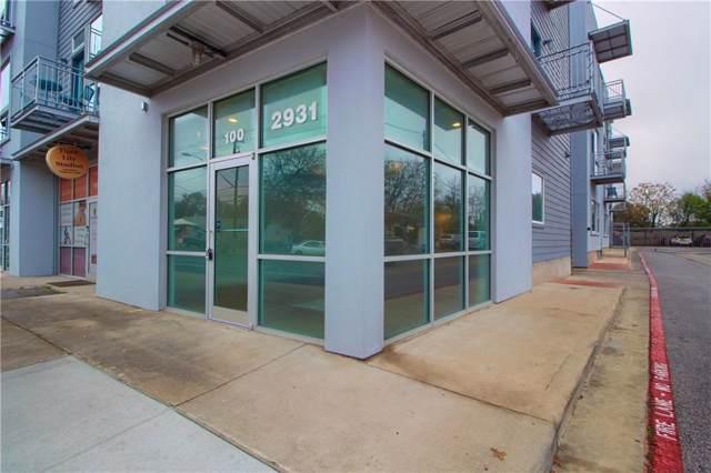 2931 E 12th St #100, Austin, TX 78702 (#6953904) :: RE/MAX Capital City