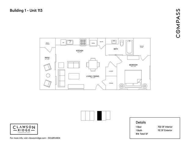 3700 Clawson Rd #113, Austin, TX 78704 (MLS #7021793) :: Vista Real Estate