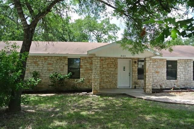 343 Leisure Ln, Cedar Creek, TX 78612 (#7068255) :: The Heyl Group at Keller Williams