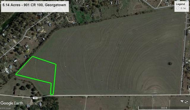 901 CR 100 County Road 100 Lot 1, Georgetown, TX 78626 (#7153116) :: The Perry Henderson Group at Berkshire Hathaway Texas Realty