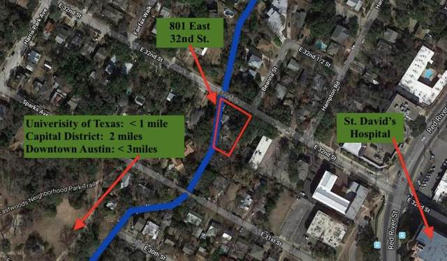 801 E 32nd St, Austin, TX 78705 (#7263547) :: RE/MAX Capital City