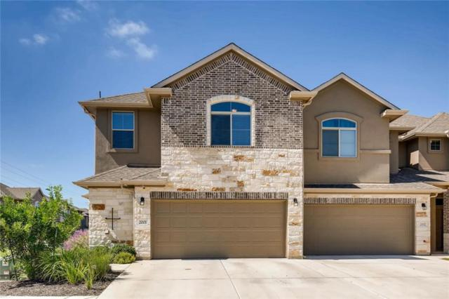 2880 Donnell Dr #2001, Round Rock, TX 78664 (#7271314) :: The Heyl Group at Keller Williams