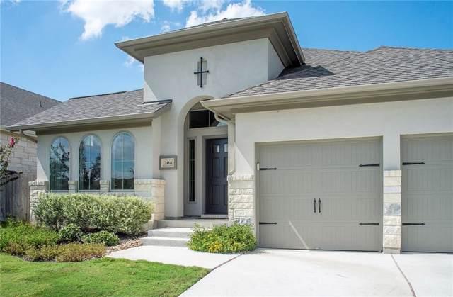 204 Crossvine Trl, Georgetown, TX 78626 (#7328661) :: Service First Real Estate