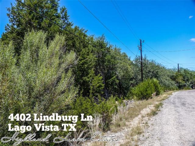 4402 Lindberg Ln, Lago Vista, TX 78645 (#7349065) :: Watters International