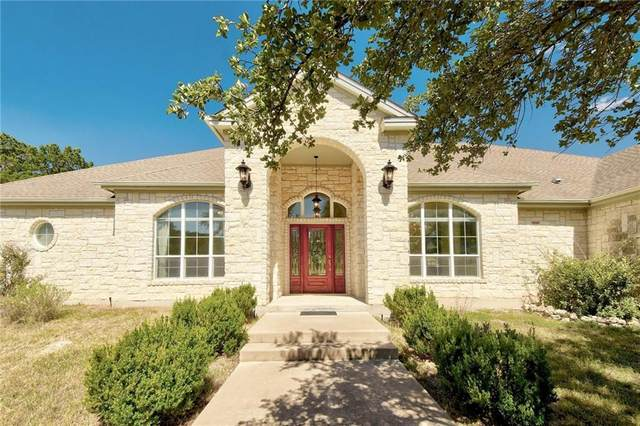 12100 Montana Springs Dr, Marble Falls, TX 78654 (MLS #7395958) :: The Lugo Group