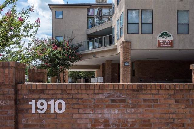 1910 Robbins Pl #106, Austin, TX 78705 (#7422168) :: The Summers Group