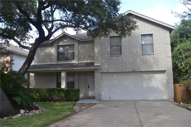 1404 Comfort St, Cedar Park, TX 78613 (#7471500) :: The Heyl Group at Keller Williams
