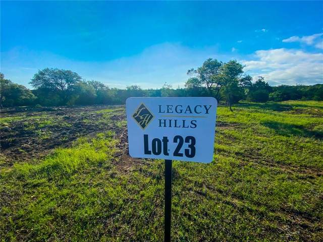 23 Legacy Hills, Johnson City, TX 78636 (#7531428) :: Watters International