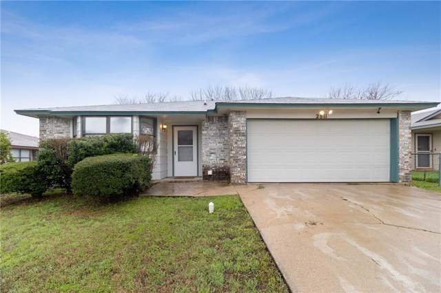 2811 Benchmark Trl, Killeen, TX 76543 (#7531617) :: The Perry Henderson Group at Berkshire Hathaway Texas Realty