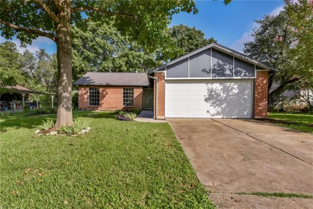1006 Long Meadow Dr, Round Rock, TX 78664 (#7560147) :: RE/MAX Capital City