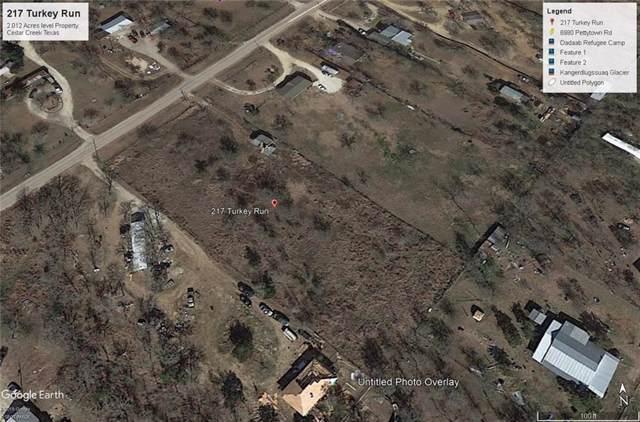 217 Turkey Run, Cedar Creek, TX 78612 (#7561011) :: The Perry Henderson Group at Berkshire Hathaway Texas Realty
