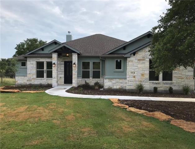 113 Hidden View Trl, Marble Falls, TX 78654 (#7580597) :: Realty Executives - Town & Country