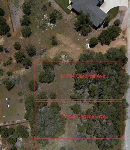 21704 Cardinal Ave, Lago Vista, TX 78645 (#7617868) :: Papasan Real Estate Team @ Keller Williams Realty