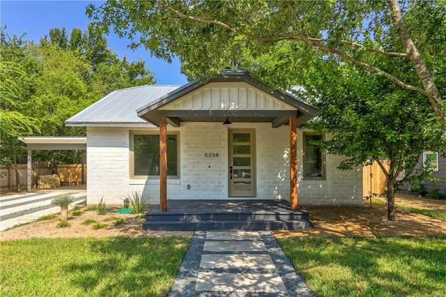 5208 Evans Ave #1, Austin, TX 78751 (#7638054) :: Ben Kinney Real Estate Team