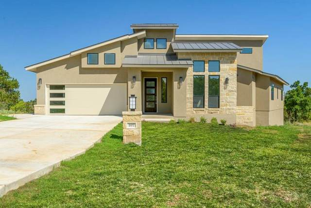 207 Hideaway, Horseshoe Bay, TX 78657 (#7645404) :: Front Real Estate Co.