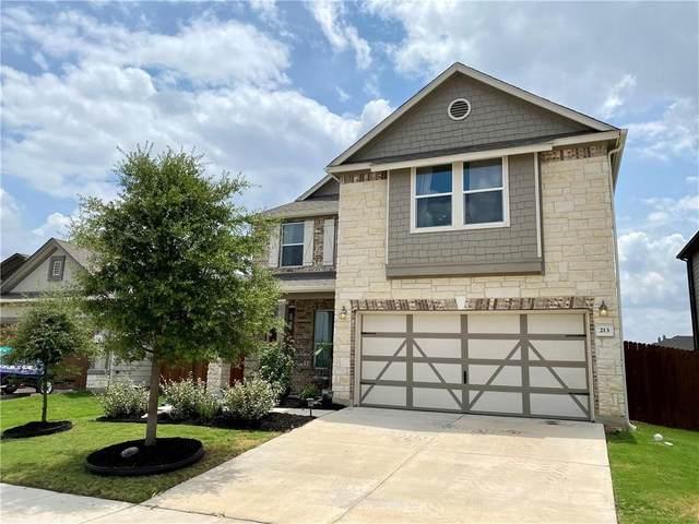 213 Tordesillas Dr, Georgetown, TX 78626 (#7705627) :: Papasan Real Estate Team @ Keller Williams Realty