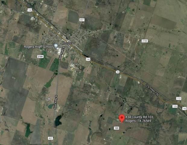 834 County Road 103 Rd, Rogers, TX 76569 (#7748167) :: Papasan Real Estate Team @ Keller Williams Realty