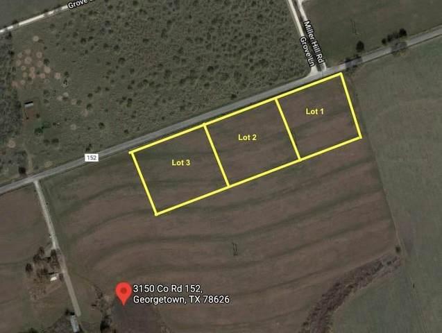 00 County Road 152, Georgetown, TX 78626 (#7753165) :: Lauren McCoy with David Brodsky Properties