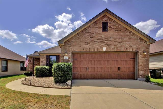 817 Watson Way, Pflugerville, TX 78660 (#7764392) :: Ben Kinney Real Estate Team