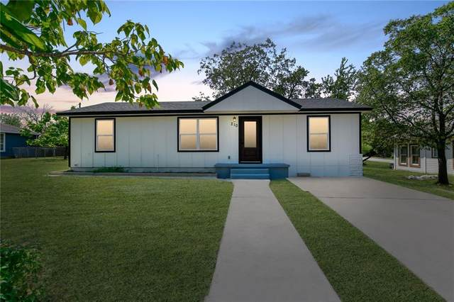 210 N Porter St, Lampasas, TX 76550 (#7789236) :: Papasan Real Estate Team @ Keller Williams Realty