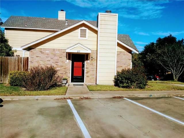 11901 Swearingen Dr 87-Q, Austin, TX 78758 (#7800230) :: Zina & Co. Real Estate
